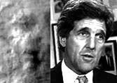 The New Mars Face looks like John Kerry!