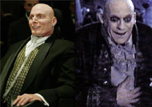 Side by side comparison: Reeve and Fester