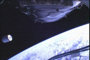 Separation of Cygnus Mass Simulator from Antares Upper Stage